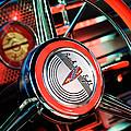 1941 Buick Eight Special Steering Wheel Emblem by Jill Reger