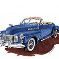 1941 Cadillac Series 62 Convertible by Jack Pumphrey