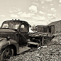 1941 Chevy Truck In Sepia by Bill Cannon