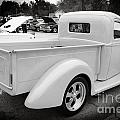 1941 Ford Pickup Truck Side View  Classic Automobile In Sepia 30 by M K Miller