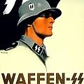 1941 - German Waffen Ss Recruitment Poster - Nazi - Color by John Madison