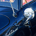 1941 Lincoln Continental Convertible Emblem by Jill Reger