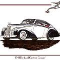 Packard Custom Coupe 120 by Jack Pumphrey