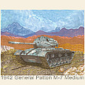 1941 W W I I Patton Tank by Jack Pumphrey