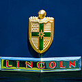 1942 Lincoln Continental Cabriolet Emblem by Jill Reger