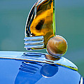 1942 Lincoln Continental Cabriolet Hood Ornament by Jill Reger