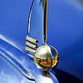 1942 Lincoln Zephyr 12 Hood Ornament by Jill Reger