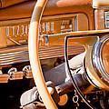 1942 Packard Darrin Convertible Victoria Steering Wheel by Jill Reger