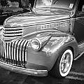 1946 Chevrolet Sedan Panel Delivery Truck Bw by Rich Franco