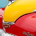 1946 Desoto Skyview Taxi Cab Hood Ornament by Jill Reger