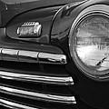 1946 Ford Deluxe 2 Door Sedan Head Light by DJ Monteleone