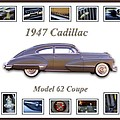 1947 Cadillac Model 62 Coupe Art by Jill Reger