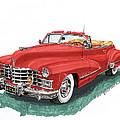 Cadillac Series 62 Convertible by Jack Pumphrey