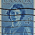 1947 Canada Four Cents Stamp by Bill Owen