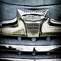 1947 Ford Deluxe Grille Emblem by Jill Reger