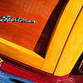 1947 Ford Super Deluxe Sportsman Convertible Taillight Emblem by Jill Reger