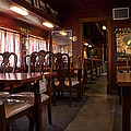 1947 Pullman Railroad Car Dining Room by Thomas Woolworth