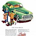 1948 - Dodge Automobile Advertisement - Color by John Madison