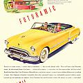 1948 - Oldsmobile Convertible Automobile Advertisement - Color by John Madison