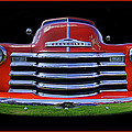 1948 Chevy Pickup W/badge by Jay Droggitis
