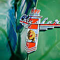 1948 Chrysler Town And Country Convertible Emblem -0974c by Jill Reger