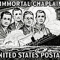 1948 Immortal Chaplains Stamp by Historic Image