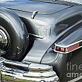 1948 Lincoln Continental Car Or Spare Tire In Color  3158.02 by M K Miller