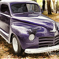1948 Plymouth Classic Car Painting Photograph 3390.02 by M K Miller