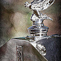 1948 Rolls-royce Hood Ornament - Emblem by Jill Reger