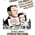 1948 - State Of The Union Motion Picture Poster - Spencer Tracy - Katherine Hepburn - Mgm - Color by John Madison