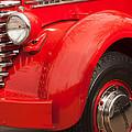 1949 Diamond T Truck Front End by Jill Reger