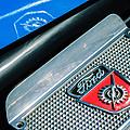 1949 Ford F-1 Pickup Truck Step Plate Emblem -0043c by Jill Reger
