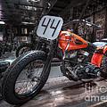 1949 Harley Davidson by David B Kawchak Custom Classic Photography