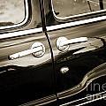 1949 Mercury Classic Car Suicide Doors In Sepia 3201.01 by M K Miller