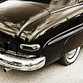 1949 Mercury Classic Car Trunk And Tail Lights In Sepia 3200.01 by M K Miller