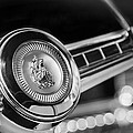 1949 Plymouth P-18 Special Deluxe Convertible Steering Wheel Emblem by Jill Reger