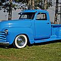 1950 Baby Blue Chevrolet Pu by Randall Branham