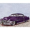 Chopped 1950 Cadillac Coupe De Ville by Jack Pumphrey