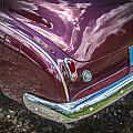 1950 Chevrolet Tailights And Bumper by Rich Franco