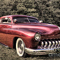 1950 Custom Mercury Subdued Color by David B Kawchak Custom Classic Photography