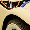 1950 Eddie Rochester Anderson Emil Diedt Roadster Steering Wheel by Jill Reger