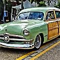 1950 Ford Deluxe Woody Station Wagon by Rebecca Korpita