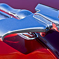 1950 Nash Hood Ornament by Jill Reger