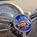 1950 Oldsmobile Rocket 88 Steering Wheel by Jill Reger