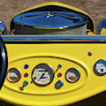 1950s Hot Road Dashboard At Antique Car by Panoramic Images
