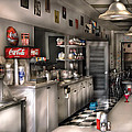 1950's - The Soda Fountain by Mike Savad