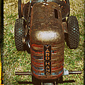 1950s Yard Hand Tractor by Mary Lee Dereske