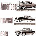 1951 - Kaiser Frazer Manhattan Automobile Advertisement - Color by John Madison