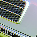 1951 Aston Martin Db2 Coupe Side Emblem by Jill Reger