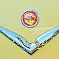 1951 Chrysler New Yorker Convertible Emblem by Jill Reger